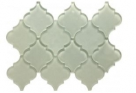 Soci Tremont Pattern White Arabesque Tile SSL-1102