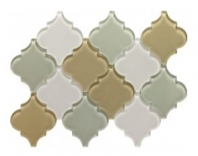 Soci Tremont Pattern Beach Arabesque Tile SSL-1103