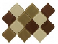 Soci Tremont Pattern Sand Arabesque Tile SSL-1104