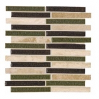 Soci Luna Blend Allegro Pattern Interlocking Tile SSM-427