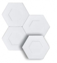 "Soci Dual Cotton 5.25"" Hexagon Tile SSN-1520"