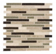 Soci Amaretti Blend Random Brick Mosaic SSR-1403