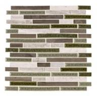 Soci Smoke Blend Random Brick Mosaic SSR-1406