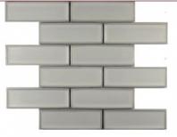 Soci Linen Vault 2x6 Brick Mosaic SSR-1414