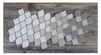 Soci Valencia Linen Blend Arabesque Tile SSR-1419