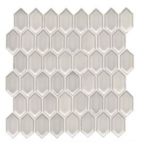 Soci Linen Vault Mini Picket Hexagon Tile SSR-1436