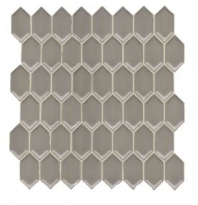 Soci Mist Vault Mini Picket Hexagon Tile SSR-1437