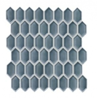 Soci Biscay Vault Mini Picket Hexagon Tile SSR-1444