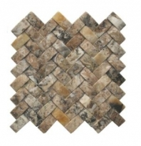 Soci Irish Cream Concave Herringbone Tile SSV-603
