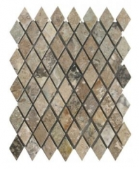 Soci Irish Cream Harlequin Honed 1x2 Mosaic SSV-615