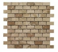 Soci Creme Brulee Honed 1x2 Brick Tile SSV-619