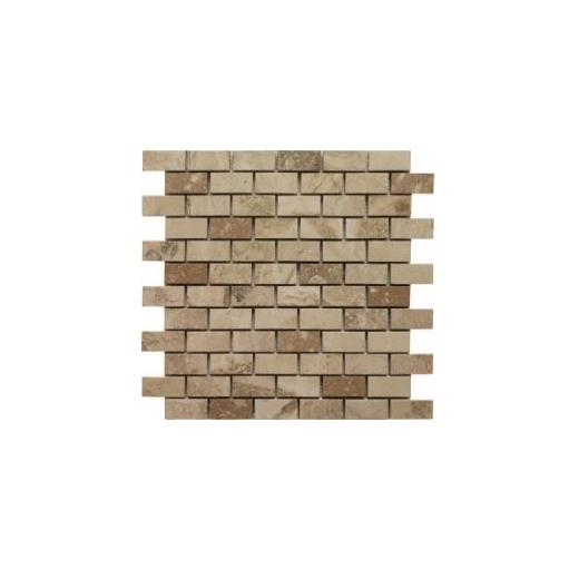 Soci Creme Brulee Honed 1x2 Brick Tile SSV-619