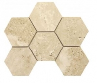 "Soci Ivory Hexagon Honed 4"" Hexagon Tile SSV-628"