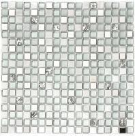 Glazzio Opulence Series Silver Clouds OP03