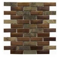 Soci Ruston Blend 1x3 Brick Tile SSY-516