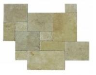 Soci Ivory Versailles Pattern Chiseled Tile SSK-701