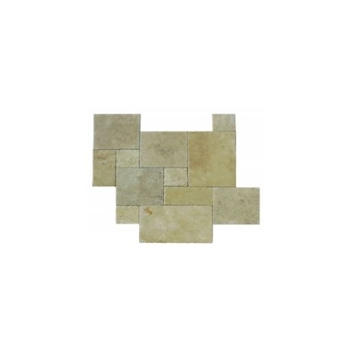 Soci SSK40 Ivory Versailles Pattern Chiseled Tile Stunning Versailles Pattern