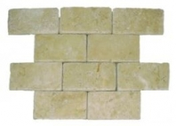 Soci Ivory Tumbled 3x6 Subway Tile SSK-708