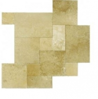 Soci Light Walnut Versailles Pattern Chiseled Tile SSK-764