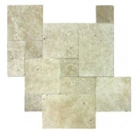 Soci Ivory Tumbled Versailles Pattern Tile SSK-765
