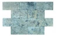 Soci Silver Tumbled 3x6 Subway Tile SSK-783