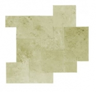 Soci Ivory Straight Edge and Brushed Random Tile SSK-825