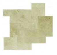 Soci Ivory Straight Edge and Brushed Random Tile SSK-825