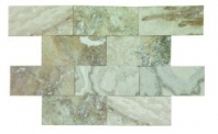 Soci Creme Brulee Honed and Filled 3x6 Subway Tile SSK-842