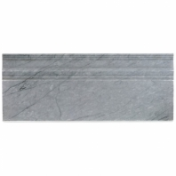 Soho Studio Burlington Gray Base Molding Tile
