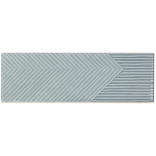 Soho Studio Fragments Ash Blue 2x8 Subway Tile