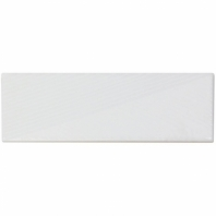 Soho Studio Fragments White 2x8 Subway Tile