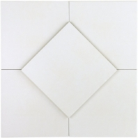 Soho Studio Hermosa Blanco 9x9 Tile