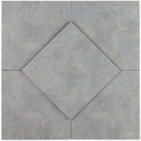 Soho Studio Hermosa Grigio 9x9 Tile