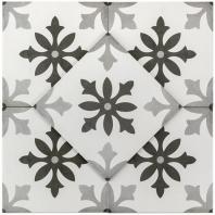 Soho Studio Hermosa Picasso Blanco 9x9 Tile