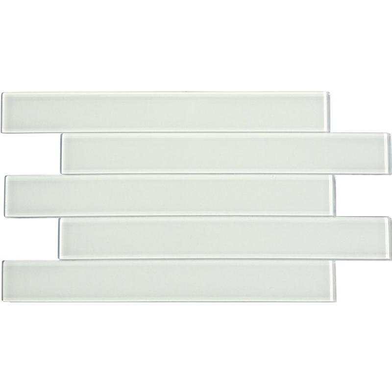 Soho Studio Linpsupw2x16 Linear Super White 2x16 Subway Tile