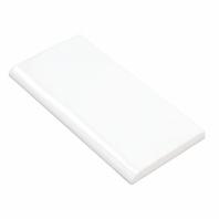 Soho Studio Masia Blanco 3x6 Bullnose 6 Inch Side