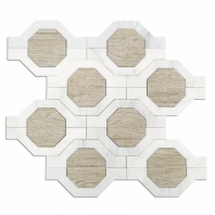 Soho Studio Wood Jet Mariposa Gray Porcelain Asian Statuary Wood Look Tile