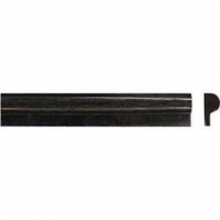 MSI Black Granite 1x2x12 Rail Molding