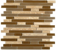 Tile Random Brick Stone Brown SES06