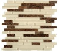 Tile Random Brick Nutmeg SES07