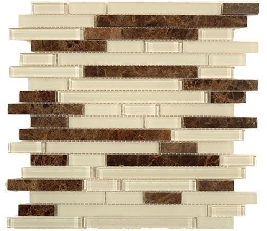 Glazzio Randomn Brick Series Nutmeg SES07