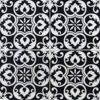 MSI Tetris Nero 6x6 Floral Tile