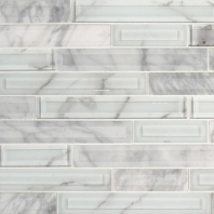 MSI Blocki Blanco Interlocking Tile