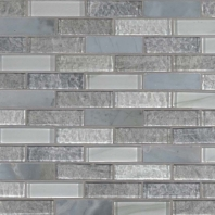 MSI Lupano Glass Stone Blend Interlocking Tile