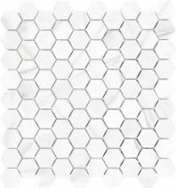 Anatolia Mayfair 1 Hexagon Polished Volakas Grigio AC69-924