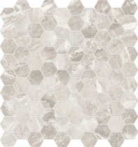 Anatolia Mayfair 1 Hexagon Polished Stella Argento AC69-925