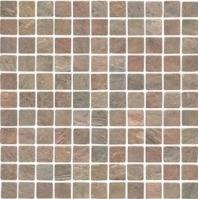 Anatolia Slate 1x1 Tumbled Copper ACIS154