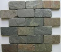 Anatolia Slate 2x4 Tumbled Multicolor ACIS300