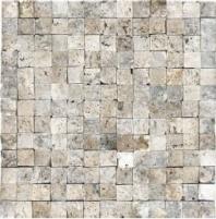 Anatolia Travertine 1x1 Mosaic Picasso ACNS220