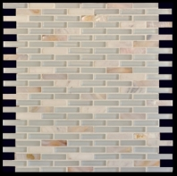 Milstone White Naomi Interlocking Mosaic Tile ML790094229